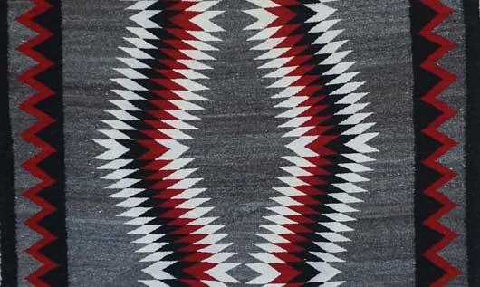 JB Moore Crystal Navajo Rug 1110 Photo 002