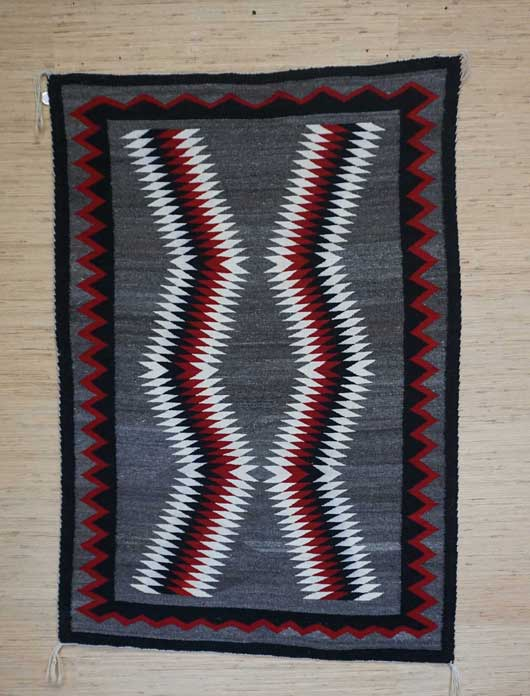 JB Moore Crystal Navajo Rug 1110 Photo 004