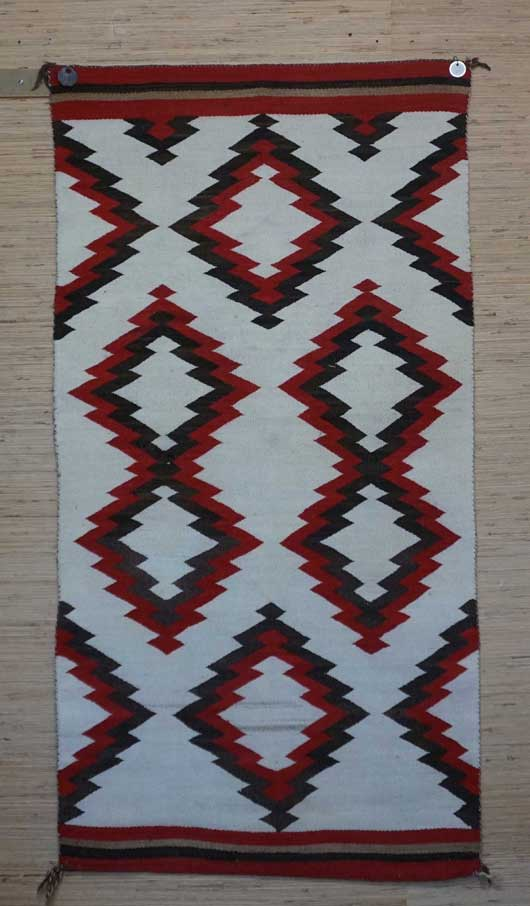 JB Moore Crystal Trading Post Double Navajo Saddle Blanket 1085 Photo 001
