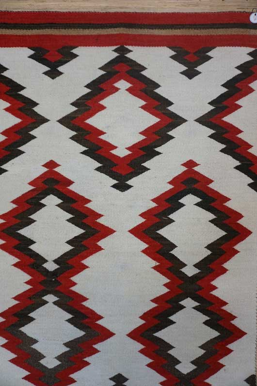 JB Moore Crystal Trading Post Double Navajo Saddle Blanket 1085 Photo 002