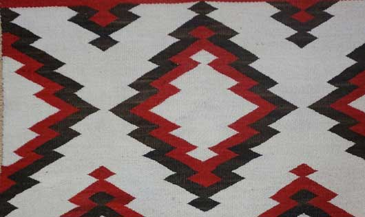 JB Moore Crystal Trading Post Double Navajo Saddle Blanket 1085 Photo 003