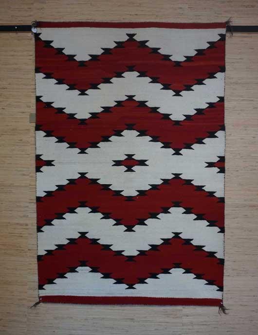 JB Moore Crystal Trading Post Navajo Blanket 1087 Photo 001