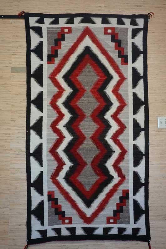 JB Moore Crystal Trading Post Navajo Rug 1055 Photo 001