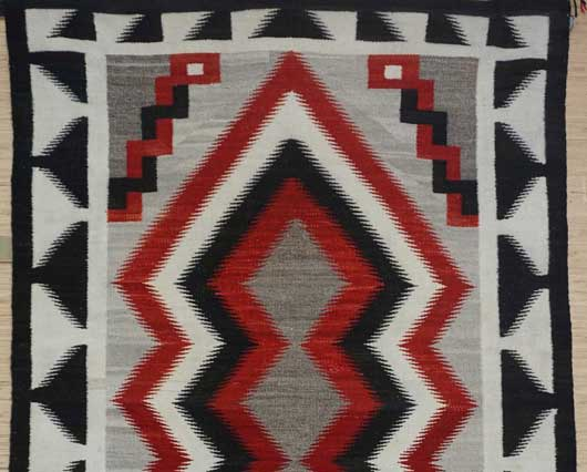 JB Moore Crystal Trading Post Navajo Rug 1055 Photo 002