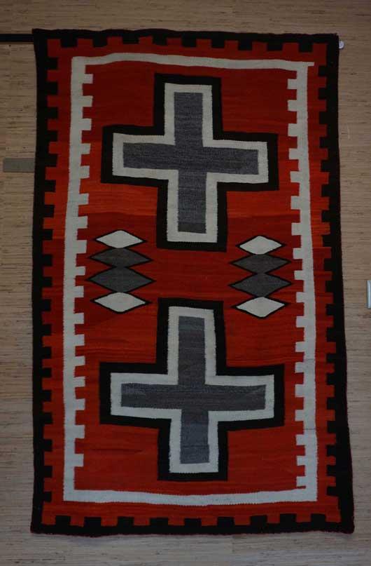 JB Moore Crystal Trading Post Navajo Rug 1139 Photo 001