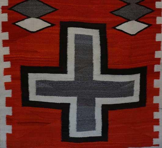 JB Moore Crystal Trading Post Navajo Rug 1139 Photo 002