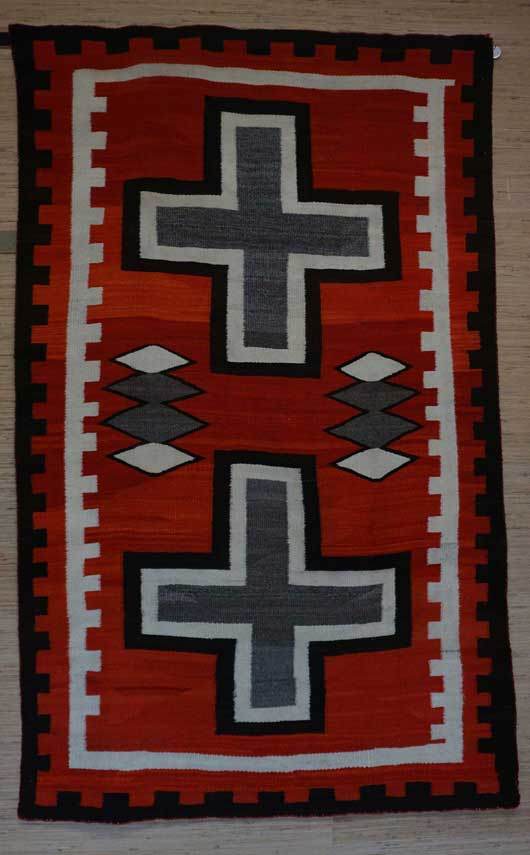 JB Moore Crystal Trading Post Navajo Rug 1139 Photo 003