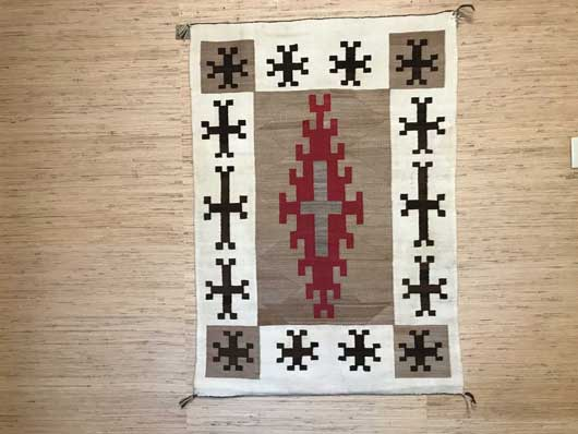 JB Moore Crystal Trading Post Navajo Rug for Sale 939 for Sale