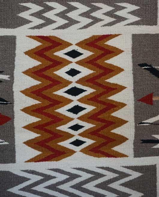 JB Moore Crystal Trading Post Storm Pattern Navajo Rug Variant of Plate XXVIII 1088 Photo 002