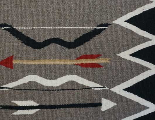 JB Moore Crystal Trading Post Storm Pattern Navajo Rug Variant of Plate XXVIII 1088 Photo 003