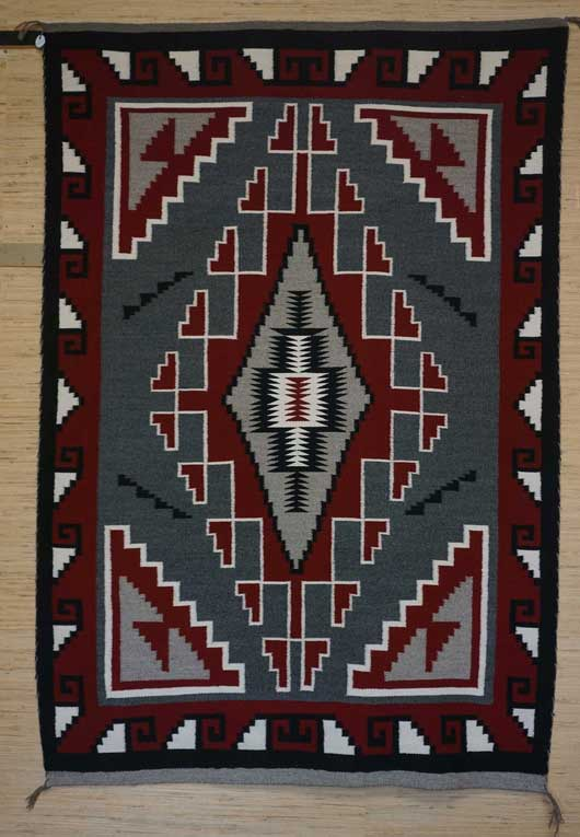 Klagetoh Navajo Rug 1125