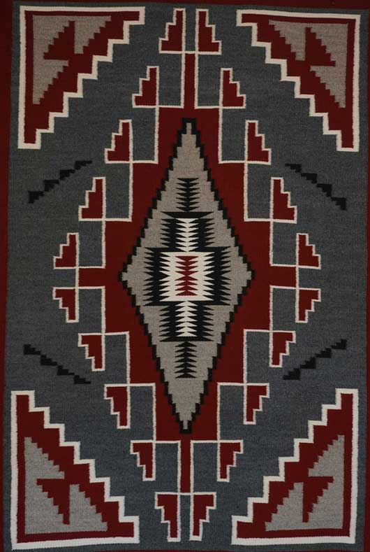 Klagetoh Navajo Rug 1125 Photo 002