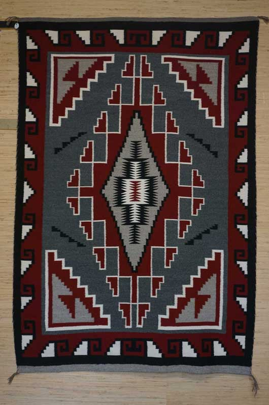 Klagetoh Navajo Rug 1125 Photo 003