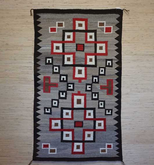 Klagetoh Navajo Rug 935