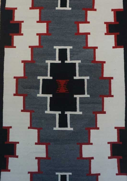 Klagetoh Navajo Rug for Sale 1049