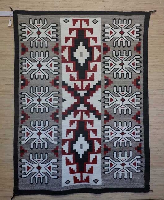 Klagetoh Navajo Rug for Sale in a Three Column Format 986 for Sale