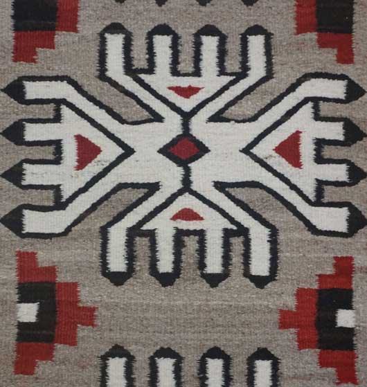 Klagetoh Navajo Rug for Sale in a Three Column Format 986 for Sale