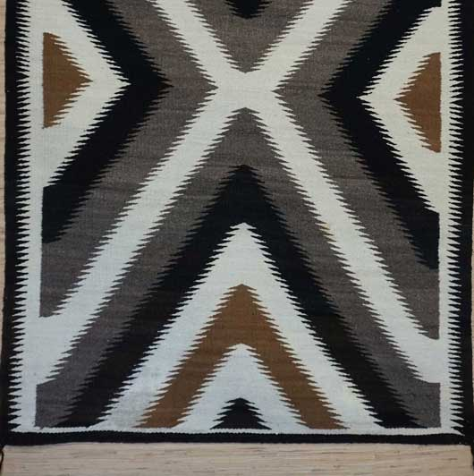 Klagetoh Navajo Rug 348