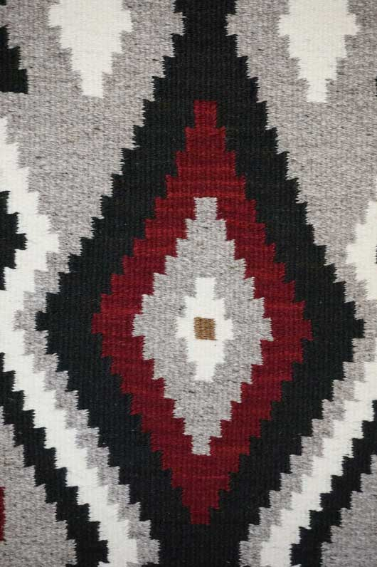 Klagetoh Navajo Table Runner Weaving; Klagetoh Navajo Table Runner Weaving  ...