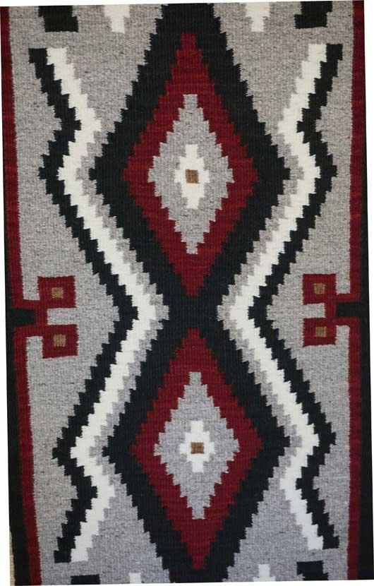 ... Klagetoh Navajo Table Runner Weaving ...