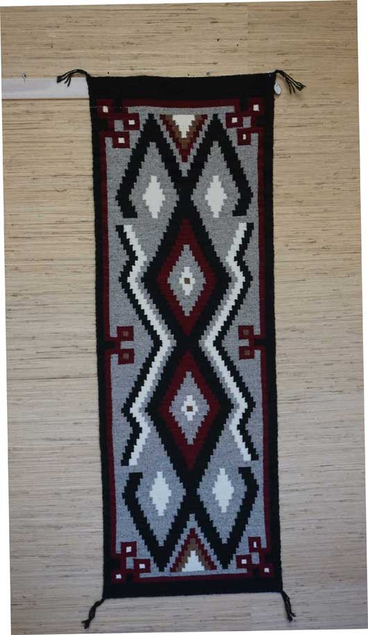 ... Klagetoh Navajo Table Runner Weaving