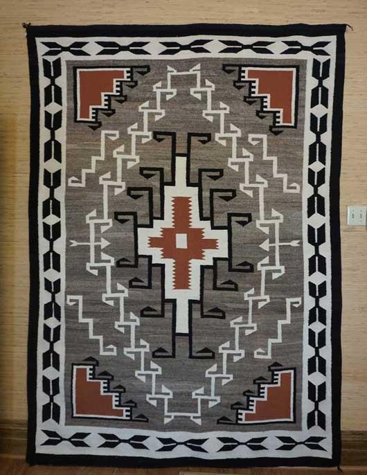 Large Teec Nos Pos Navajo Rug