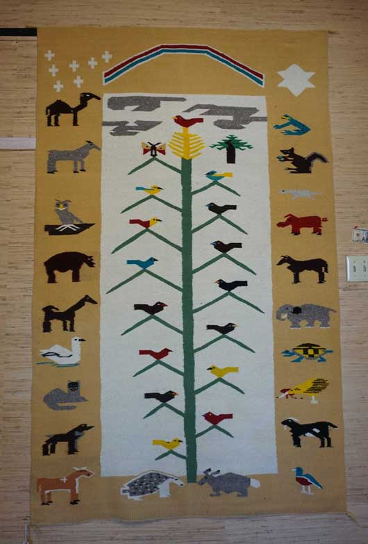 Large Tree of Life Navajo Rug 945