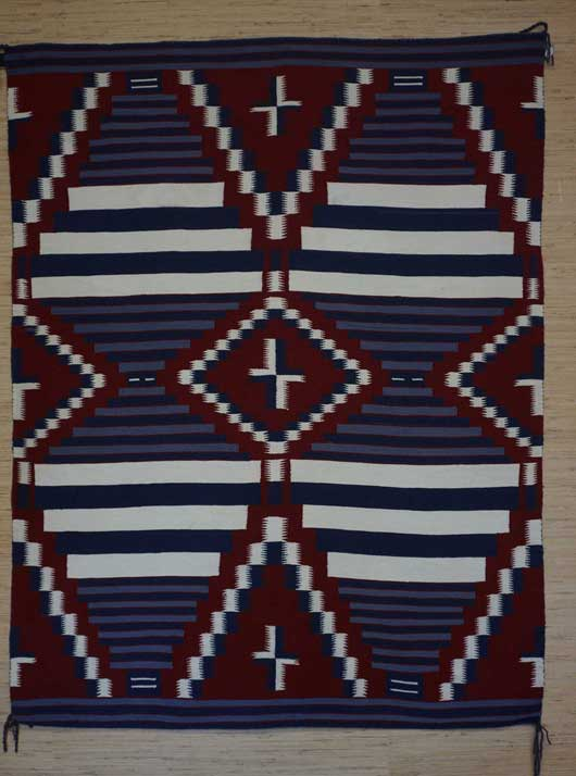 Moki Third Phase Chiefs Blanket 1127 Photo 001