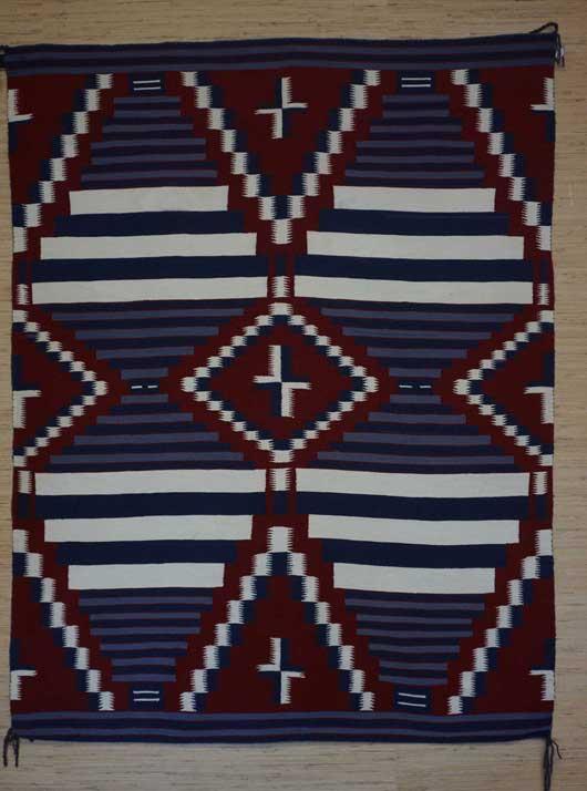 Moki Third Phase Chiefs Blanket for Sale 1127