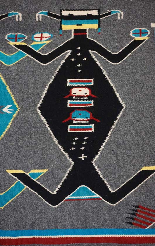 Mother Earth Father Sky Navajo Rug 958