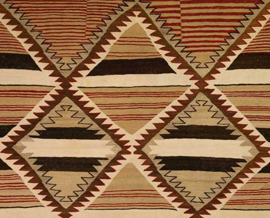 Navajo Banded Chiefs Blanket Revival Variant 113 Photo 003