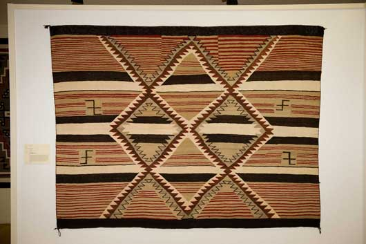 Navajo Banded Chiefs Blanket Revival Variant 113 Photo 005