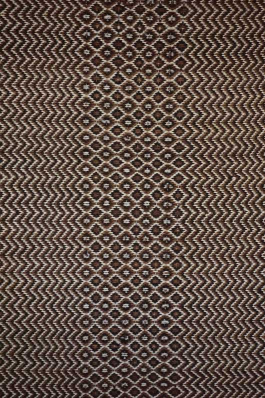 Navajo Diamond and Zigzag Twill Double Saddle Blanket 946
