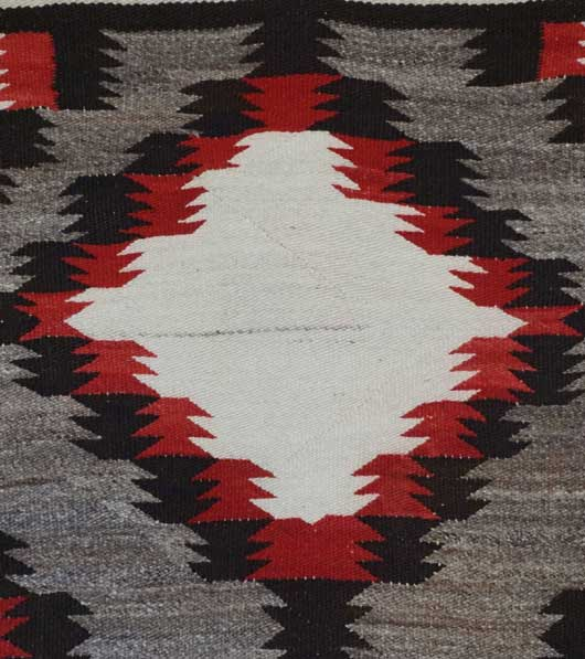 Navajo Double Saddle Blanket 1054
