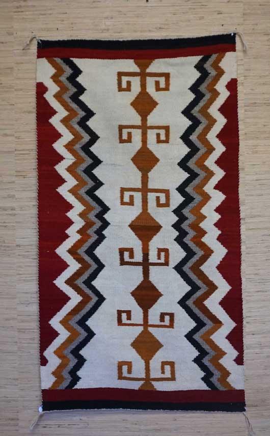 Featured Single Yei Navajo Rug