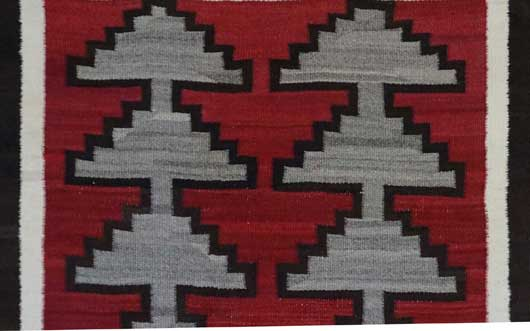 Navajo Double Saddle Blanket 910 for Sale