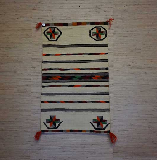 Navajo Double Saddle Blanket 912 for Sale