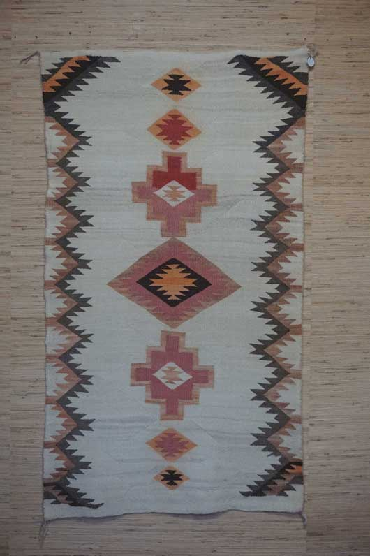 Navajo Double Saddle Blanket for Sale 954 for Sale