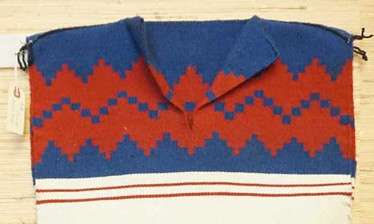 Navajo Dress Weaving