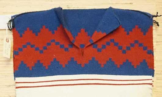 Navajo Dress Weaving