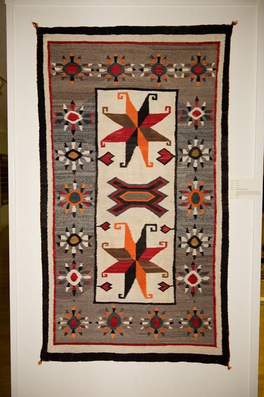 Bisti Navajo Rug