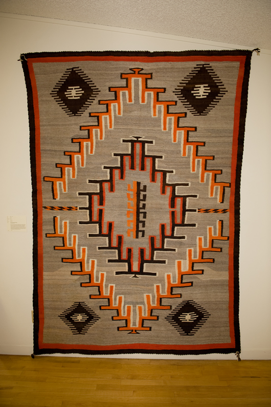Navajo Rug Exhibits Charley S Navajo Rugs For Sale
