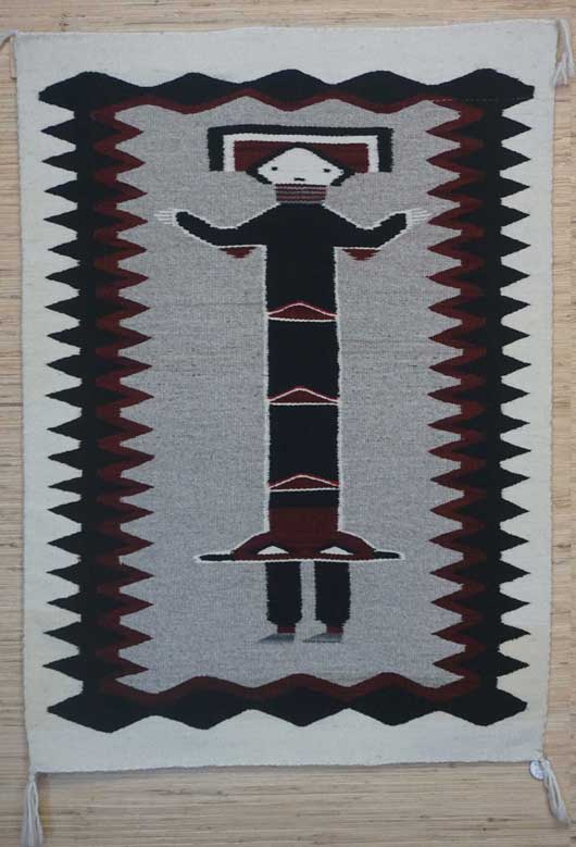 Navajo Hero Twin Born of Water Rug 671