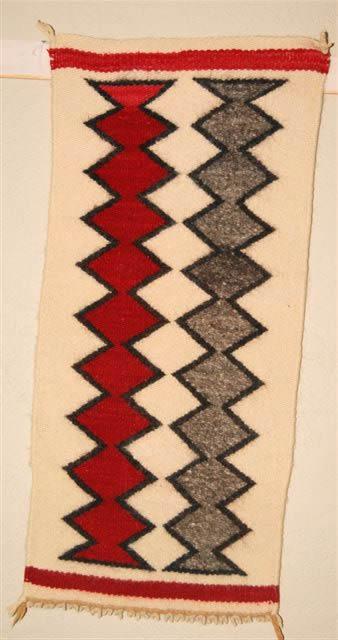 Gallup Throw Navajo Rug Weaving