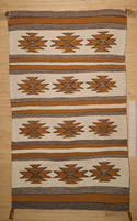 Wide Ruins Navajo Saddle Blanket