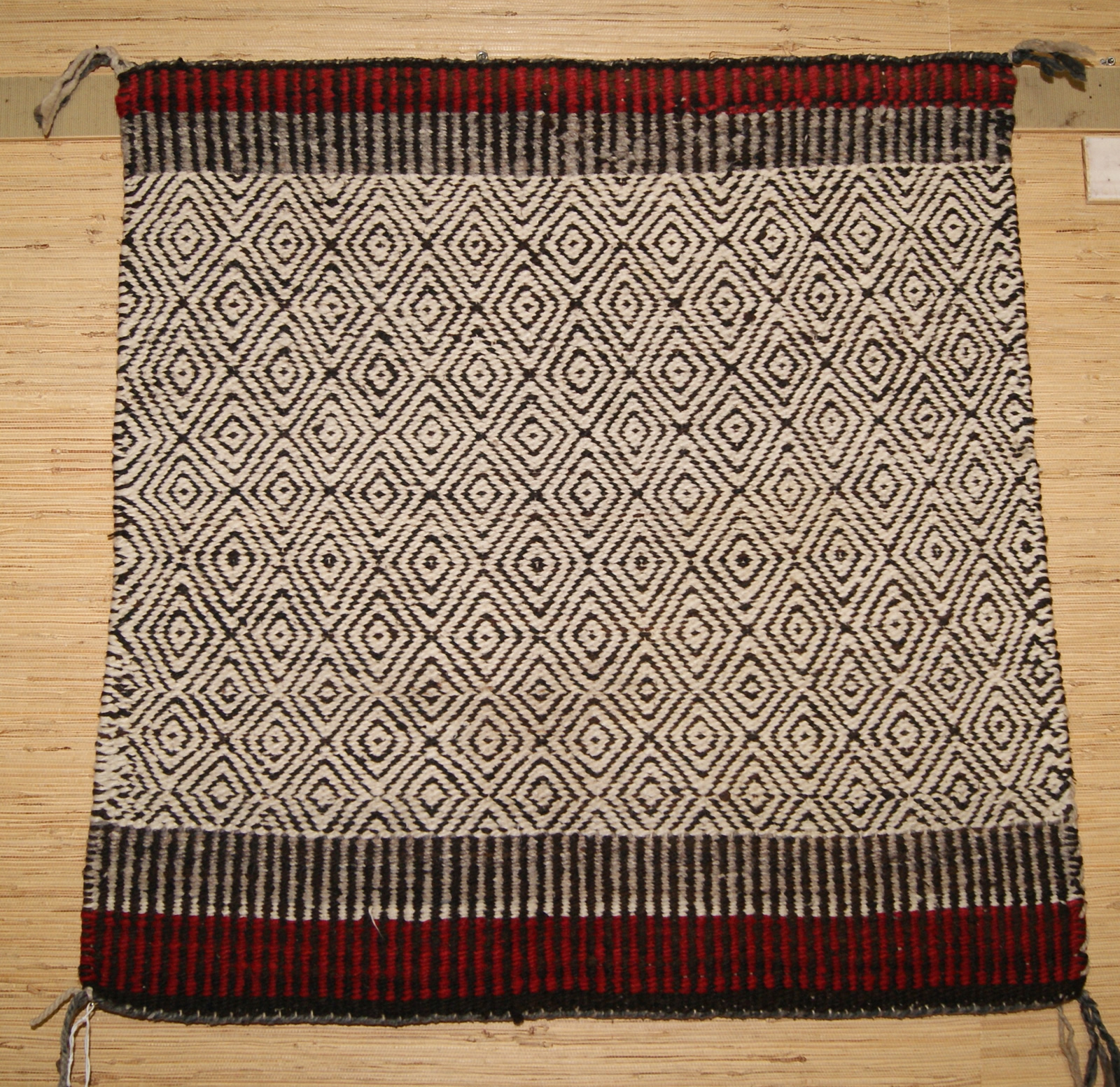 Twill Weave Navajo Single Saddle Blanket