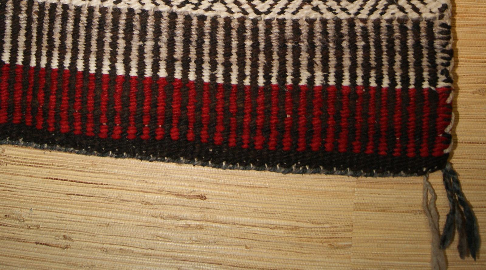Twill Weave Navajo Single Saddle Blanket