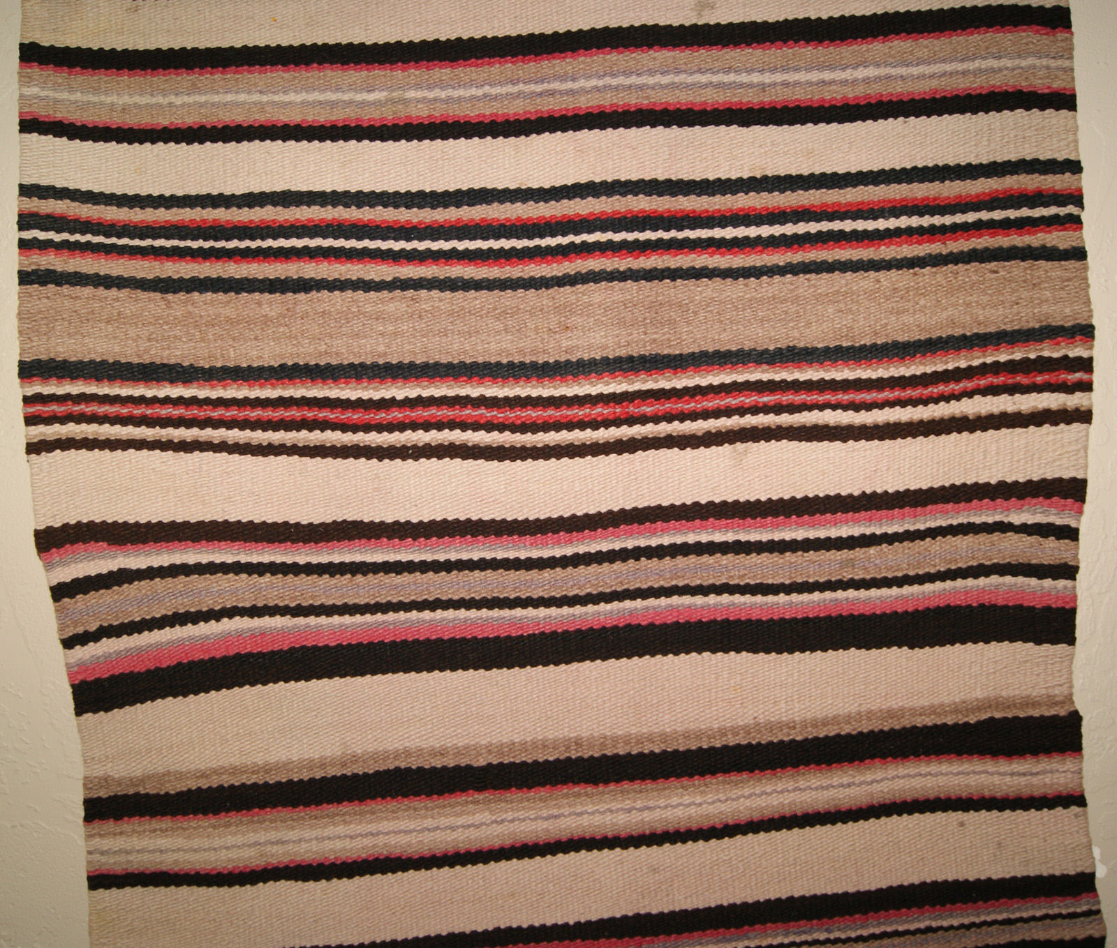 Navajo Double Saddle Blanket D33 Navajo Weaving For Sale