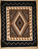 Regional Navajo Diamond Design Weaving