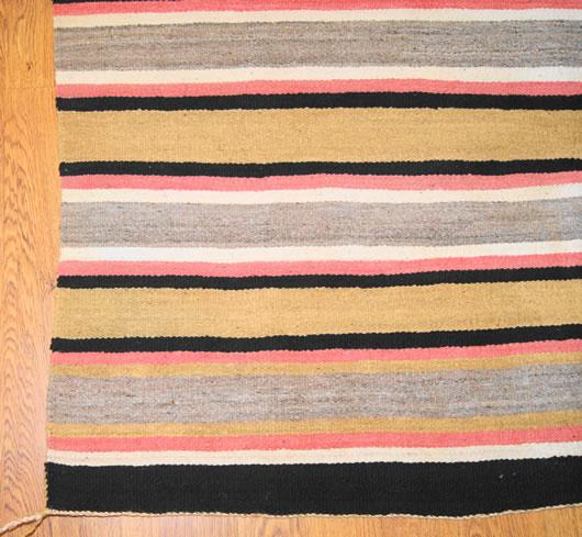 Chinle Navajo Rug For Sale Circa 1940